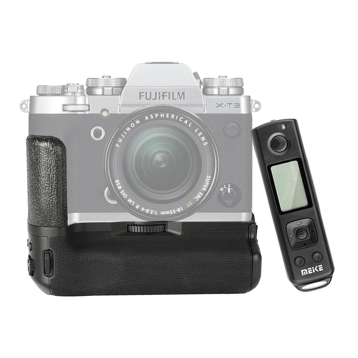 Meike MK-XT3 Pro télécommande batterie poignée pour Fujifilm X-T3