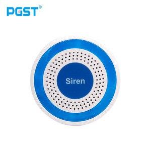 Image 1 - 433mhz Wireless Sound und Licht Sirene 100dB Alone Strobe Sirene Home Security Sound Alarm System
