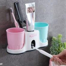 Держатели для зубных щеток Автоматический Дозатор зубной пасты
