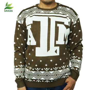 Men'S Wear Autumn And Winter Hot Selling Sweater Europe And America Christmas English Snowflake Knitted Sweater Cardigan Men's william beach thomas the english year autumn and winter