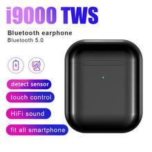 цена на Original I9000 TWS 1: 1 Wireless Bluetooth Mini Headset Ear Hook Earphone Auriculares Bluetooth 5.0 Deporte Bluetooth Handsfree