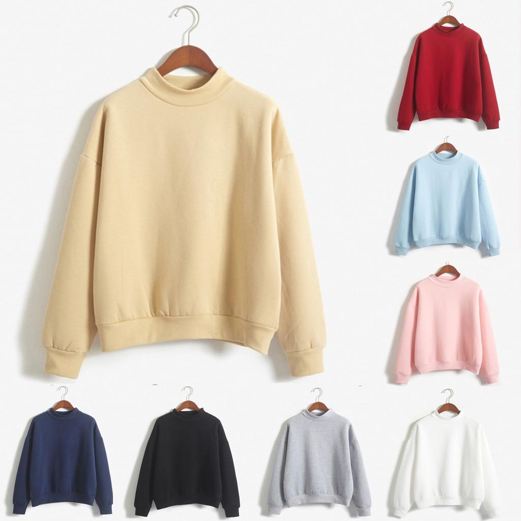 Hoody Sudadera Mujer Bluzy Damskie Moletom Feminino Inverno Bluza Damska Oversized Hoodie Sudaderas Para NEW Long Sleeve Plus Z4