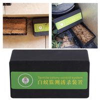 Termite isca de jardim  isca termômetro para jardim  ferramenta de controle de pestes