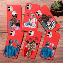 PUNQZY Cute baby Super girl mom Love case for iphone 11 pro MAX 5 6 6s 7 7s 8 plus xs XR XS MAX Soft TPU Red LOVE Mother's Day punqzy cute baby super girl mom love case for iphone 11 pro max 6 7 7s 8 plus xs xr xs max soft tpu transparent love mom love