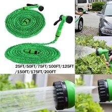 Triple Magic Garden Expansion Pipe High Pressure Car Washing Sprinkler Irrigation Gun 25FT-200FT