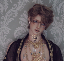 HeHeBJD 1/3 Hdend bjd doll Anubis fantasy doll resin ball jointed model reborn high quality toys low price