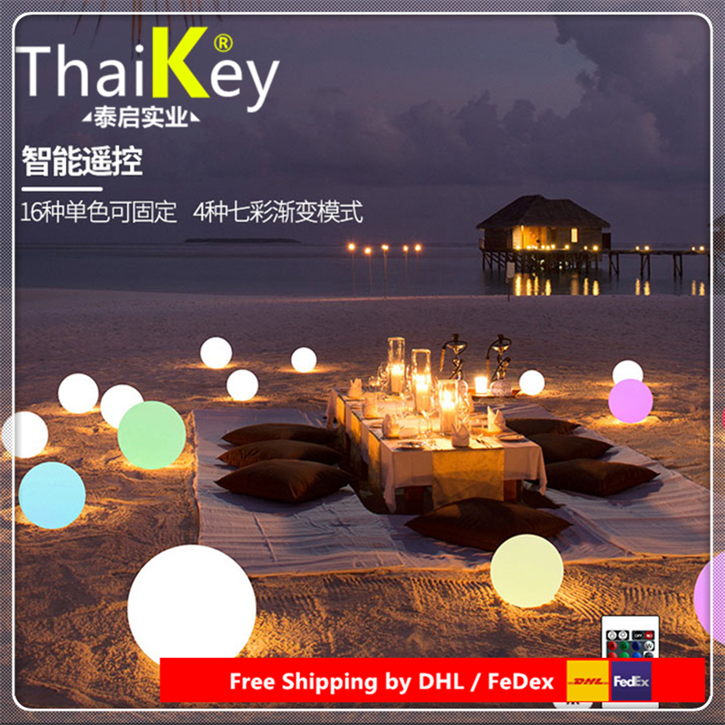 LED Round Ball outdoor light led PE Christmas for Decoration Free Shipping