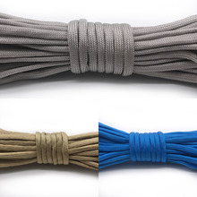 цена на Paracord 550 Rope Parachute Cord Lanyard Tent Rope Guyline Mil Spec Type III 7 Strand 5 Meters For Hiking Camping DIY 208 Colors