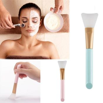 1PC Professional Soft Silicone Mask Brush Face Foundation DIY Mud Mixing Makeup Brushes Cosmetic Make up Face Skin Care Tools