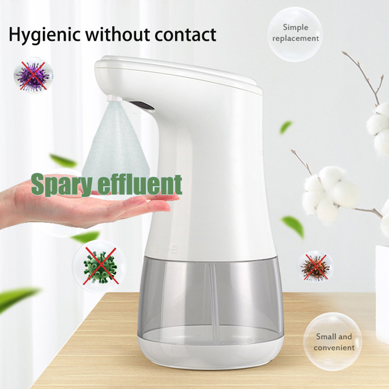 360ml Automatic Liquid Spray Soap Dispenser Infrared Induction Hydroalcoholic Gel Hand Disinfection Machine Touchless Sanitizer