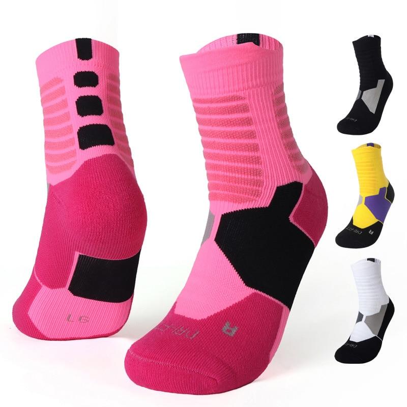 Male Football Soccer Socks Outdoor Activities Socks Mid Length Socks Thick Socks Men Antiskid Towel Bottom Thickened Adult Socks