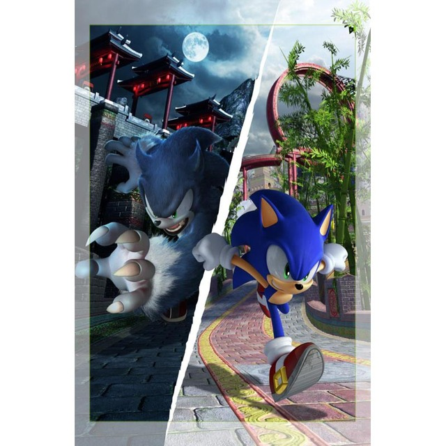 Nice Anime Sonic The Hedgehog Poster Silk Fabric Wall Art Poster Print Painting Nature Decoration Pictures Modern Home Decor Wall Stickers Aliexpress