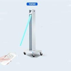 Ультрафиолетовый стерилизатор светильник 100 Вт 110 В 220 В UVC дезинфекционная лампа Kill Mites 253.7nm бактерицидный светильник s стерилизация