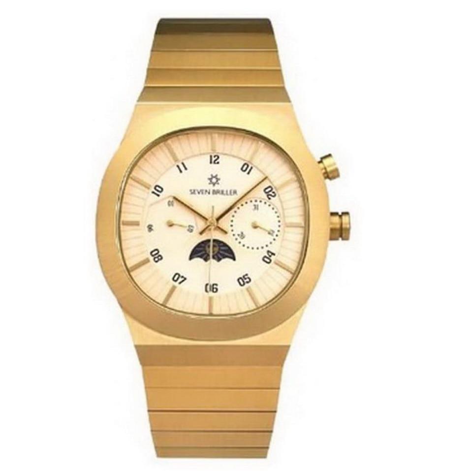 Men Fashion Business Boy Business Watch Luminous Stainless Steel Waterproof Hollow Quartz Watches