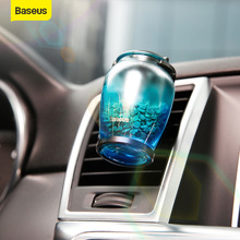 цена на Baseus Car Air Freshener Perfume Auto Outlet Air Diffuser Solid Perfume for Home Air Vent Outlet Zeolite Car Fragrance Diffuser