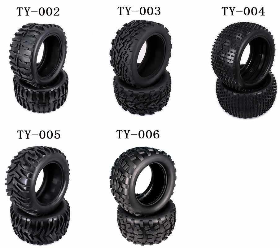 Natuurlijke Rubber Band Band Voor RC 1/10 Monster Truck Grote Voet Truggy Hobby Auto HSP Himoto HPI Traxxas Redcat Kyosho velg