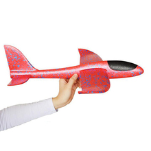 Hand Throw Flying Glider Planes Foam Aircraft Model EPP Resistant Breakout Party Game Children Outdoor Fun Gift Toys #S