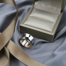 S925 sterling silber echte luxus design spiegel glänzend dainty party zubehör ringe trendy fashion schmuck für frauen männer