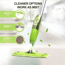 Spray Mop Cleaner Home Floor Bath Kitchen Sweeper Broom Microfiber Flat  floor cleaning Pads Household Cleaning