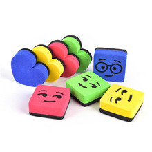 2pcs Premium Magnetic Small Whiteboard Dry Erase Sponge Erasers Dry Erasers Whiteboard Erasers For Classroom Home Office