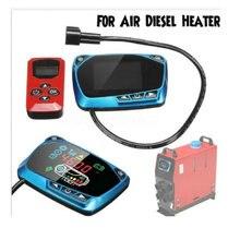 Termostato con pantalla LCD, interruptor Universal de 12V y 24V, control remoto, accesorios para calentador de estacionamiento diésel