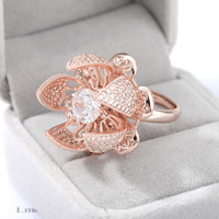 Flocaw Mechanical Flower Blooming Ring 4