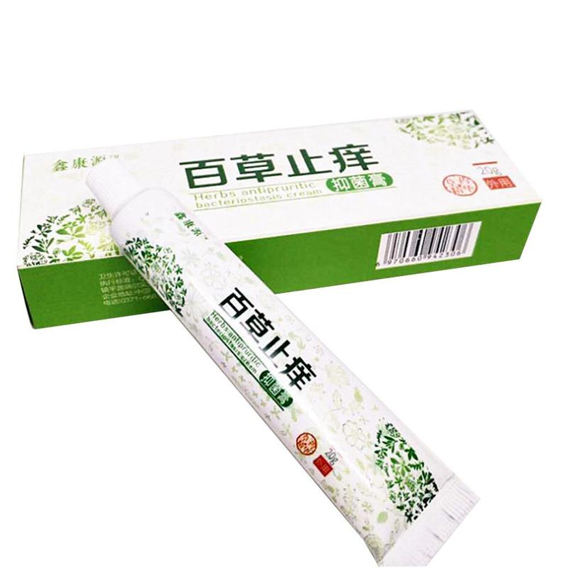 Skin Care Ointment 100% Chinese Traditional Herbal Medicinal Plaster Anti-itch Psoriasis Cream Dermatitis Pruritus Eczema New