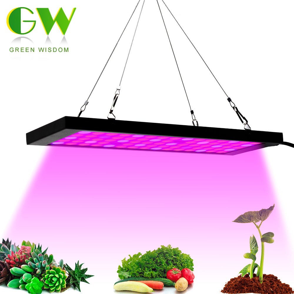 AC85-265V Growing Lamp Full Spectrum LED Grow Light 2835 Chip Red+Blue+IR+UV Phyto Lamp For Plants Flowers Seedlings Cultivation