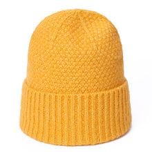 Beanie hiver pour femmes hommes épais chaud Crochet Skullies chapeau couleur unie unisexe automne tricoté bonnets casquette accessoires sauvages Bonne