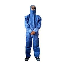 Одноразовые разведения краски масл-доказательство водонепроницаемый защиты PP костюм дышащий пылезащитный одежда быстросохнущие цельный