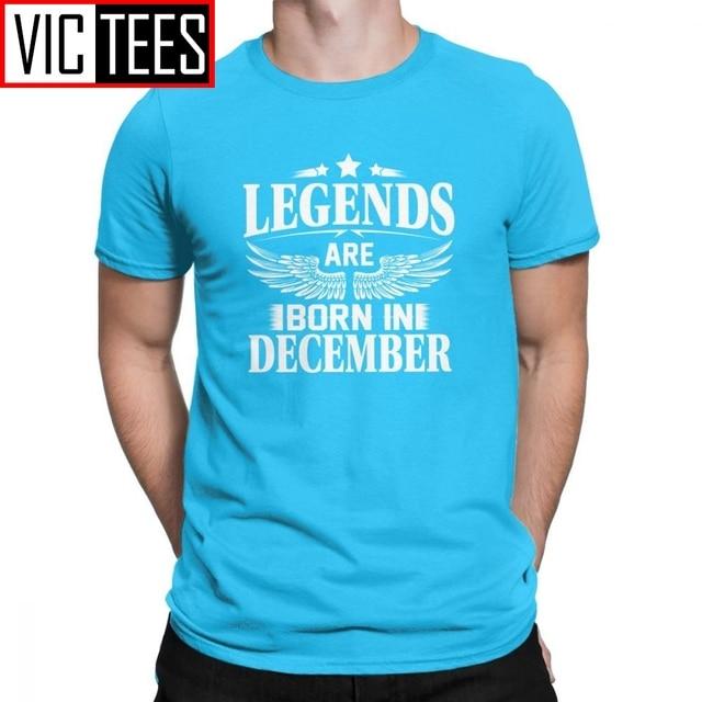 Fun Legends Are Born In December December Standard Standard Unisex T-shirt