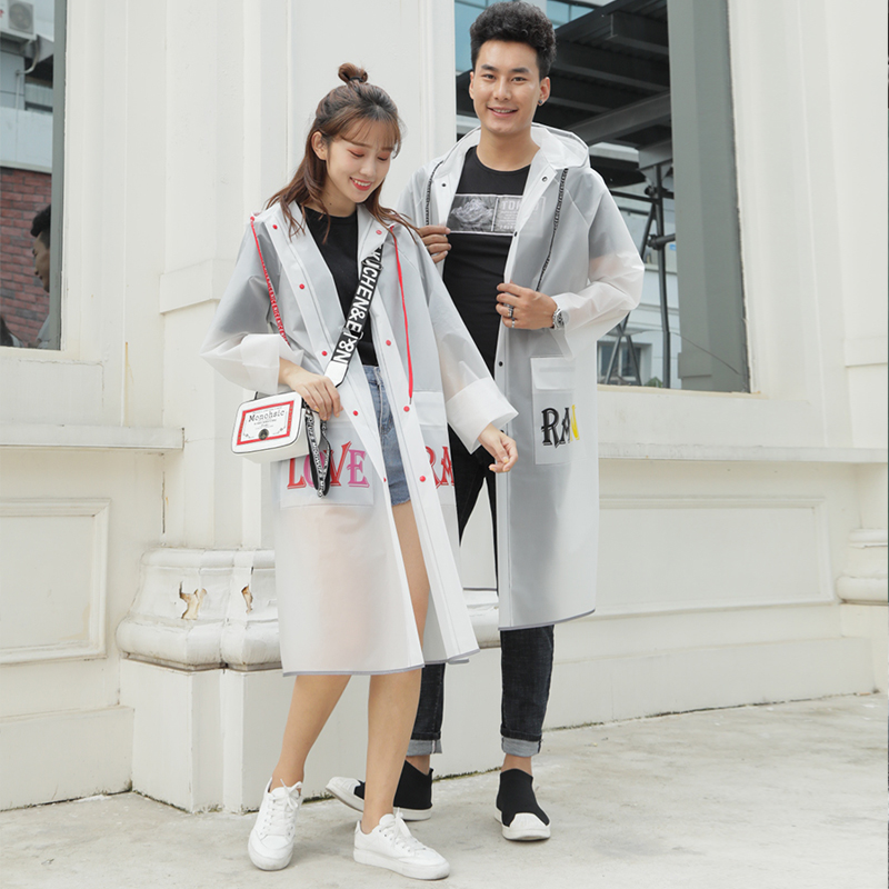 Scooter Nylon Raincoat Women Waterproof Transparent Overall Raincoat Hiking Survival Chubasquero Mujer Rain Poncho JJ60YY
