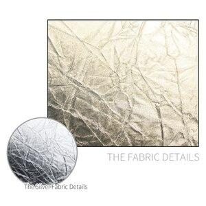 """Image 3 - SH 12 """"(30cm) 2 in 1 çok diskli Diffuers ışık yuvarlak reflektörü taşınabilir katlanabilir gümüş ve altın fotoğraf stüdyosu"""