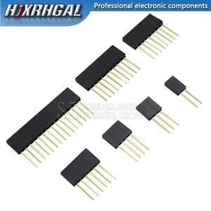 10pcs 2/3/4/6/8/10/15 Pin 2.54 mm Stackable Long Legs Femal Header For Arduino Shield
