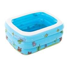 Надувной бассейн для летних игр детский плавательный центр семейная