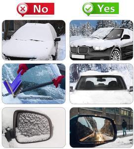Image 5 - Capa de para brisa magnética para carro, capa anti congelamento para neve, para proteção contra o sol