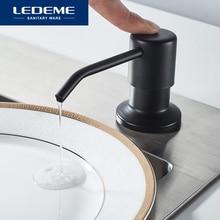 LEDEME диспенсер для мыла для кухонной раковины пластиковый встроенный насос для лосьона пластиковая бутылка для кухонного жидкого мыла L405F ...