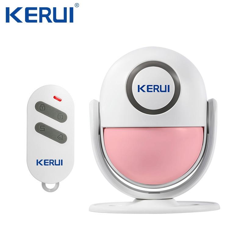 KERUI P6 Willkommen Türklingel Chime Drahtlose Sicherheit Alarm Infrarot IR Motion Sensor Tür glocke Alarm Türklingel Fernbedienung