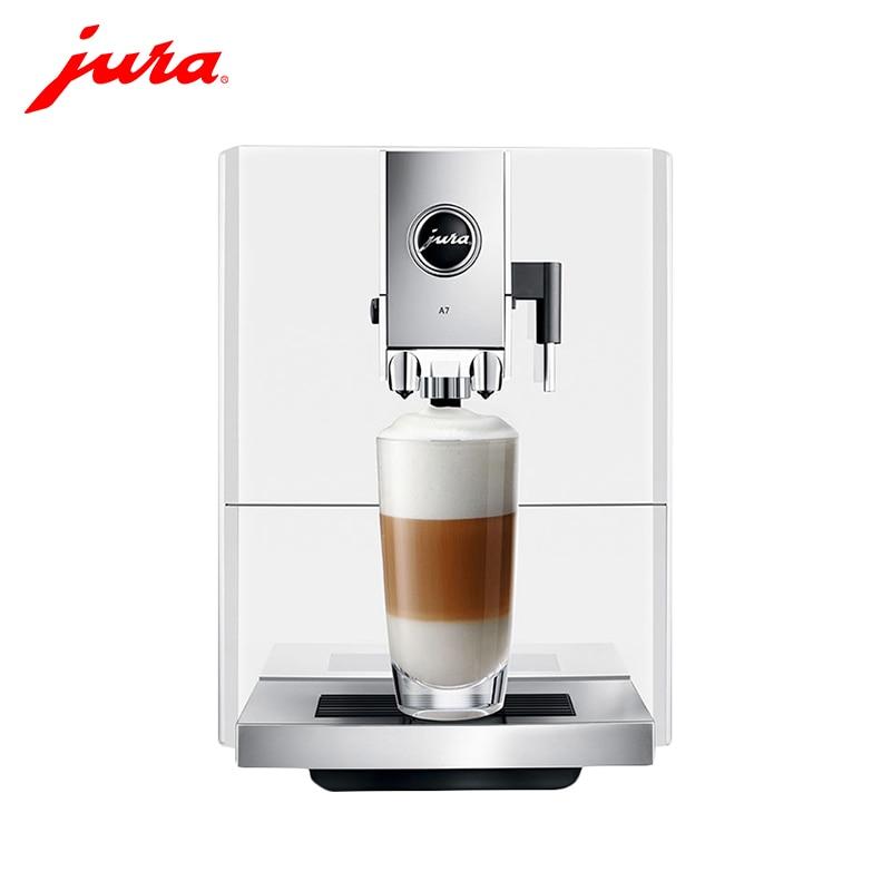 Coffee Machine Jura A7 Piano white capuchinator coffee maker automatic kitchen appliances goods