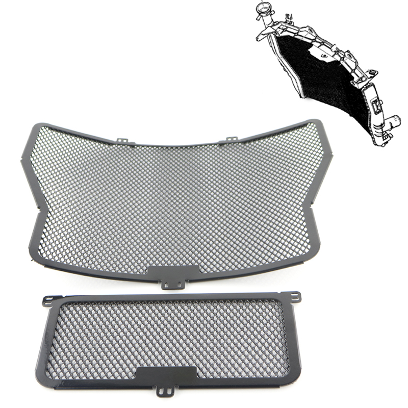 Radiator Guard Grill Oil Cooler Cover Protector Aluminum For BMW S1000RR 2009-2016 S1000XR 2015 S1000R 2014 2015 2016