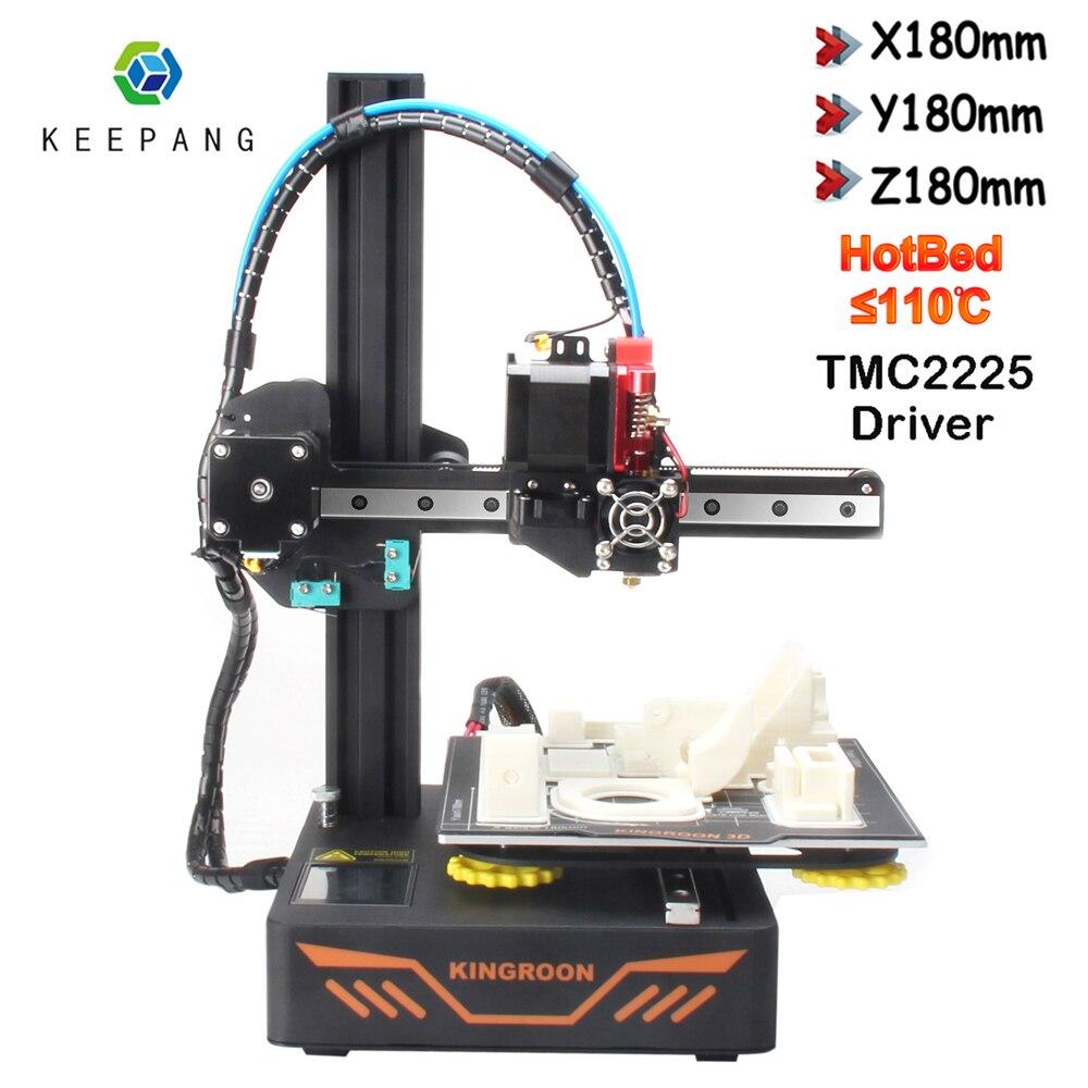 Nieuwe Verbeterde 3D Printer Diy Kit Magnetische Bouwen Plaat KP3S 3D Printer Met TMC2225 Drive Hervatten Stroomuitval Afdrukken