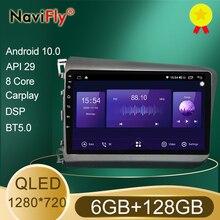 NaviFly – autoradio QLED Android 1280, Navigation GPS, lecteur multimédia, écran 720x10.0, vidéo, pour voiture Honda Civic 9 FB FK FD (2011 – 2015)