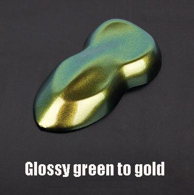 Премиум матовая/блестящие Меняющие цвет с перламутровым блеском виниловая наклейка на машину весь корпус обёрточная пленка Алмазный Блеск для винилового пленки - Color Name: Glossy green gold