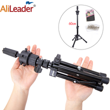 Alileader Wig Stand Tripod Strong Stand Tripod For Wig Canvas Block Head Adjustable Mannequin Tripod Stand For Wig Head,Wig Cap
