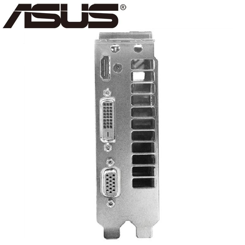 Видеокарта ASUS, оригинал GTX950, 2 ГБ 128 бит GDDR5 графические платы для nVIDIA, видеоадаптеры Geforce GTX 950, б/у, для игр 1050 750 TI-5