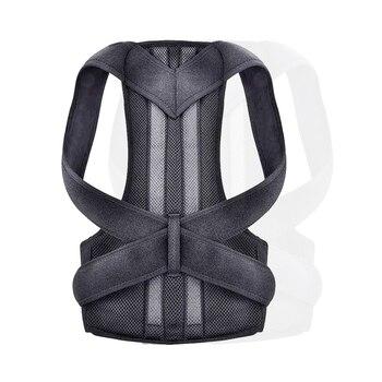 Adjustable Back Brace Posture Corrector Back Spine Support Brace Belt Shoulder Lumbar Correction Bandage Corset For Men Women US