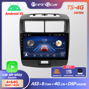 Prelingcar Android 10.0 NO 2 din DVD Car Radio Multimedia Video Player GPS Navigation For TOYOTA Avanza 2010-2016 Octa-Core IPS image
