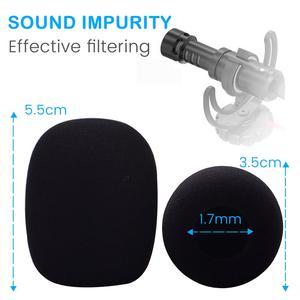 Image 4 - Microfoon Voorruit Voor Rode Videomicro Zachte Spons Schuim Voor Camera Microfoon Videomic Opname Mic