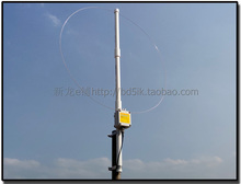 K 180WLA Actieve Loop Breedband Ontvangende Antenne 0.1 Mhz 180 Mhz 20dBi Sdr Radio Antenne: loop Kleine Loop Korte Golf Antenne