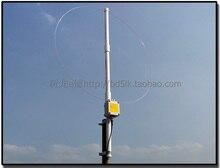 K 180WLA Active LOOP Broadband รับเสาอากาศ 0.1MHz 180MHz 20dBi SDR วิทยุเสาอากาศ: ห่วงห่วงขนาดเล็กสั้นเสาอากาศคลื่น